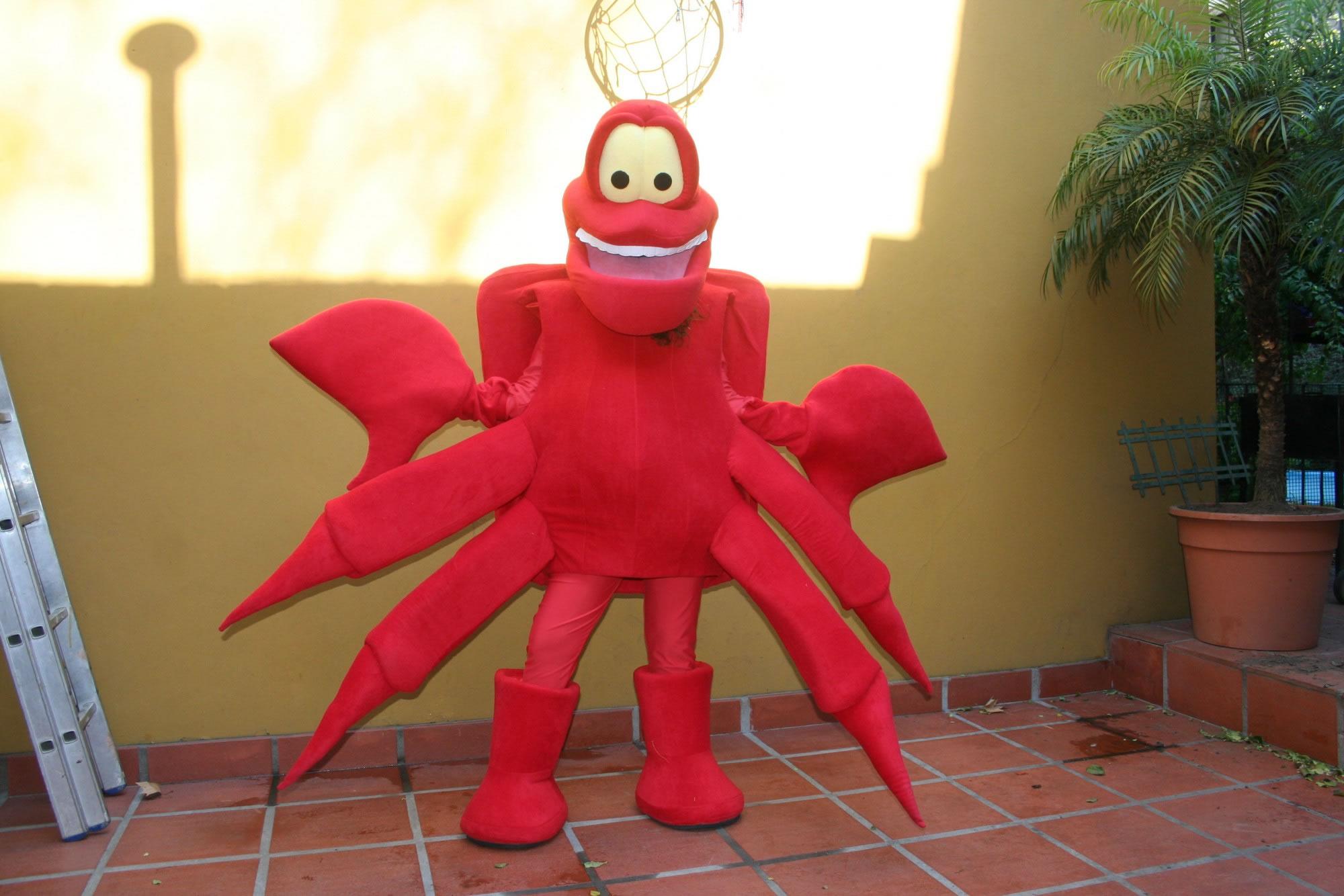 Como Hacer Disfraz De Sebastian El Cangrejo Imagui - Disfraz-de-cangrejo-nio